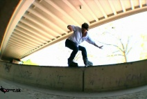 Aggressive In Line Skate Street Session Wien